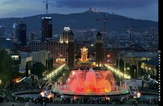 Barcelona de nit màgica