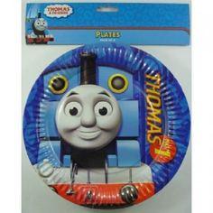 8 x Thomas the Tank Engine Friends Dinner Plates Boys Birthday Party Supplies