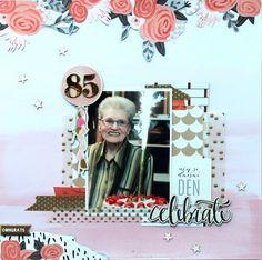 MK-life: Velká pětaosmdesátka My Scrapbook, Project Life, Projects, Blue Prints, Tile Projects