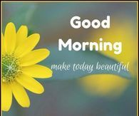 Good Morning, Make Today Beautiful