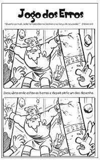 SOS PROFESSOR-ATIVIDADES: Sansão e Dalila