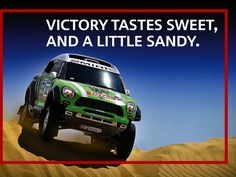 It's a win for Stéphane Peterhansel and MINI ALL4 Racing at the Dakar Rally!