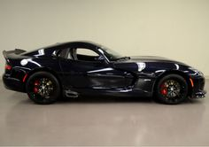 Super Rare 2014 Dodge Viper GTS. Find out why here: www.ebay.com/itm/Dodge-Viper-GTS-2014-SRT-Viper-Super-Rare-Shadow-Blue-Pearl-Only-1-of-2-/181356851330?forcerrptr=true&hash=item2a39b5f082&item=181356851330&pt=US_Cars_Trucks?roken2=ta.p3hwzkq71.bsports-cars-we-love #badass #spon