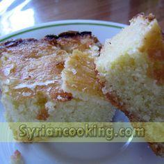 Harisi - http://www.syriancooking.com/other-desserts/harisi-semolina-cake