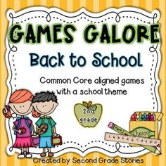 Back to School ~ Games Galore