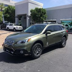 2017 Subaru Outback 3.6R Road Warrior Overland Build