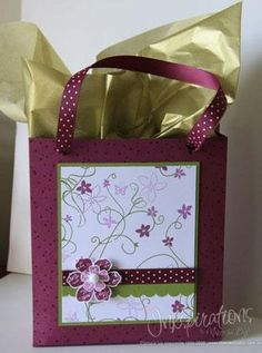 DIY Tutorial Gift Bags & Gift Tags / DIY Gift Bag - Bead&Cord