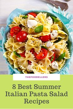 Learn how to make the best Italian Pasta Salad and discover the best tricks and advice for the perfect summer pasta!  #italianfood #pasta Summer Pasta Dishes, Summer Pasta Salad, Easy Pasta Salad, Pasta Salad Italian, Pasta Salad Recipes, Best Side Dishes, Side Dish Recipes, Best Italian Recipes, Healthy Pastas