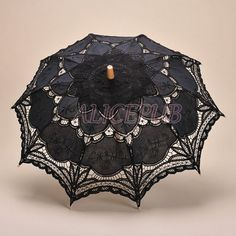 Hey, I found this really awesome Etsy listing at https://www.etsy.com/listing/201207361/black-parasol-umbrella-black-lace