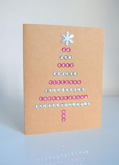 DIY Christmas Cards – northstory + co Frugal Christmas, Diy Christmas Cards, Diy Christmas Ornaments, Xmas Cards, Before Christmas, Greeting Cards, 242, Nouvel An, New Year Card