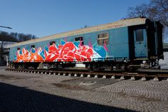 Danish graffiti artists SWET dedicates his piece on the MOLOTOW Train to DARE (R.I.P.) aka Sigi von Koeding: http://www.molotow.com/magazine/the-molotow-train/day/swet-copenhagen/