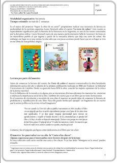 """Secuencia: Laura Devetach -""""La torre de cubos""""  Programa Maestro+Maestro (2013)"""