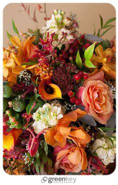 fall wedding flowers by Dan Kufner designs