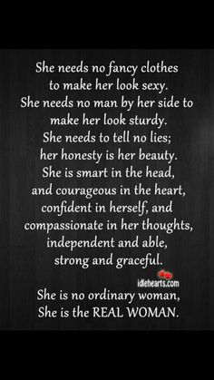 For all the Real women. Xx