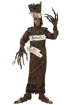 Scary Tree Adult Costume - Official Wizard of Oz Costumes