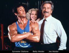 Sylvester Stallone, Betty Weider a Joe Weider Joe Weider, Good Daddy, Good Good Father, Arnold Schwarzenegger, Betty Brosmer, Fitness Tips, Health Fitness, Best Hero, Nutrition