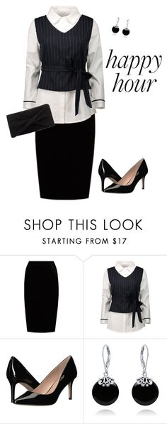 """""""Untitled #286"""" by angelbear38 ❤ liked on Polyvore featuring Jupe By Jackie, BCBGeneration, Bling Jewelry and Reiss"""