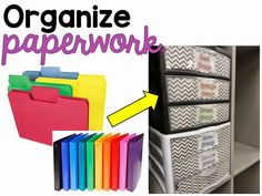 Organize Paperwork to Teach Fluency: paperwork for small groups