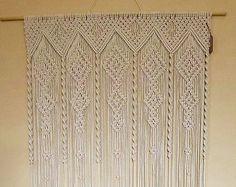 Vintage Macrame 1970's Pattern to make A Super by ickythecat