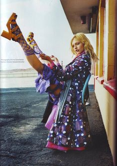 sasha pivovarova, i'll change your life, i-D july 08
