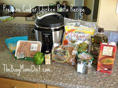 Pressure Cooker Chicken Pasta