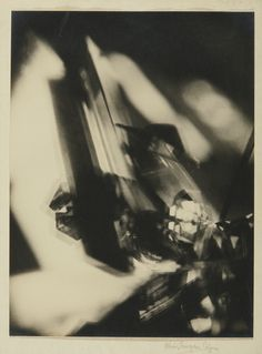 Alvin Langdon Coburn 1882-1966 VORTOGRAPH mounted to deckle-edged paper, signed in pencil on the mount, mounted again to tan board, titled and dated in pencil on the reverse, framed, 1917 10 3/4  by 8 1/8  in. (27.3 by 20.3 cm.)