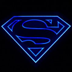 ZLD012 Decoration Blue Superman Beer Pub Bar LED Energy Saving Light Sign Neon | eBay