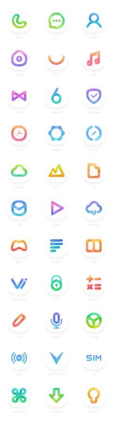 ICON module - Gradient and micro realism Web Design, App Icon Design, Logo Design, Plane Design, Carta Logo, Colegio Ideas, Launcher Icon, Ui Color, Application Icon