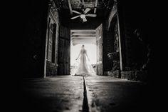 Black and white wedding photography NC