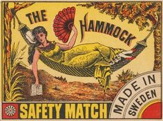 Rare large format matchbox label designed and published in Sweden. With the rapid growth of matchbox production at the start of the century, label design b Vintage Labels, Vintage Ephemera, Vintage Posters, Vintage Art, Vintage Flash, Vintage Fireworks, Design Retro, Book Labels, Matchbox Art