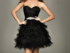 black dress! love it