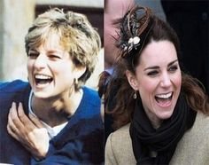 Diana & Kate laughter