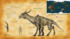 Kirin (Unicornucervus fatalis) by jbconcepts87.deviantart.com on @DeviantArt