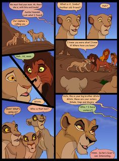 Uh-oh, Zira is starting to form evil plans in her head. Previous page: Heir to Pride Rock, page 13 Next page: Heir to Pride Rock, page 15 Ch. Heir to Pride Rock, page 14 Lion King Story, Lion King Fan Art, Lion King Simba, Disney Lion King, Hakuna Matata, Lion King Dialogue, Anime Dad, Lion King Drawings, The Lion King 1994