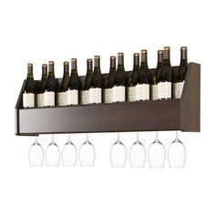 Prepac Furniture SOW-0200-11 Floating Wine Rack