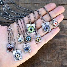 eye pendants
