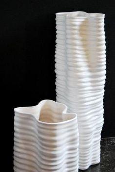 More tactile vases create the shape-driven Geometric theme.