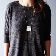 We're feelin' a little fancy and think you should too! Get this necklace in the Food52 Shop! #jewelry #beautiful #beads