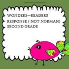 This reader response questions are based on the story Not Norman in the McGraw Hill Wonders Unit One Reading Book.   I use this to help students un...
