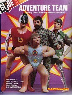 GI Joe Adventure team, the decline began in Gi Joe, Childhood Toys, Childhood Memories, 1970s Childhood, Retro Toys, Vintage Toys, Toy Catalogs, Old School Toys, Toy Soldiers