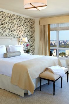 Tower Premier Rooms have a simple, cheery design and unobstructed views of Central Park. #Jetsetter
