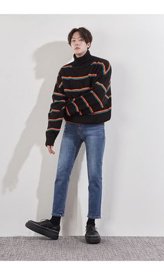 1 Year Old Baby Boy Fashion Source by newhighmensfashion clothes fashion boy Korean Outfits, Boy Outfits, Cute Outfits, Korean Clothes, Mens Fashion Sweaters, Sweater Fashion, Korean Fashion Trends, Asian Fashion, Korea Fashion