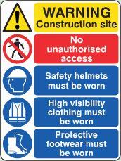 Construction Site Notice image