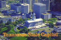 The Tennessee State Capitol, located in Nashville, Tennessee, is the home of the Tennessee legislature, the location of the governor's office, and a National Historic Landmark.