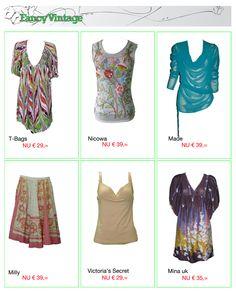 T-Bags, Nicowa, Made, Milly, Victoria's Secret, Mina uk