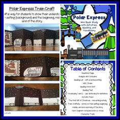 The Polar Express by Chris Van Allsburg is a great winter read.  This unit now includes a great craftivity that helps students learn about setting and summary of book.   https://www.teacherspayteachers.com/Product/Polar-Express-Mini-Book-Study-and-Activit