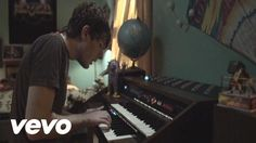 Owl City - Fireflies - I love that he uses words like 'insomniac' in his song lyrics, and that it totally makes sense. :)