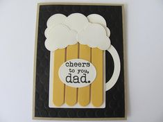 trendy birthday card for men quotes fathers day Cool Birthday Cards, Birthday Card Sayings, Birthday Gifts For Sister, Man Birthday, Birthday Quotes, Diy Father's Day Crafts, Father's Day Diy, Fathers Day Crafts, Card Crafts