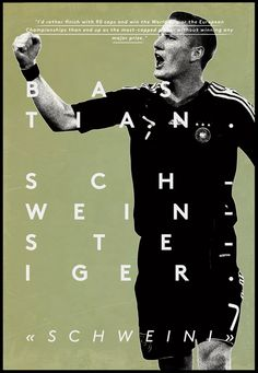 Schweiny | Football Legends by Dylan Giala, via Behance
