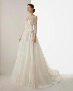 Rosa Carla Wedding Dress #wedding